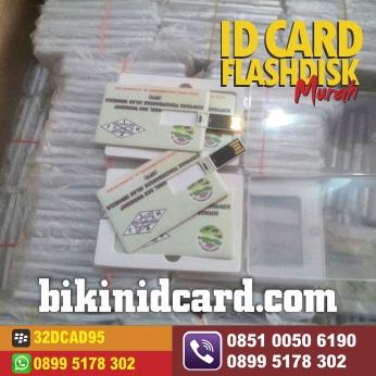 cetak id card flashdisk murah