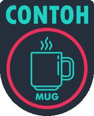 contoh mug