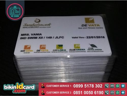 Harga cetak id card hotel murah - Contoh id card hotel