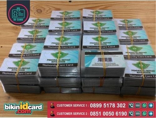 cetaka kartu member barcode
