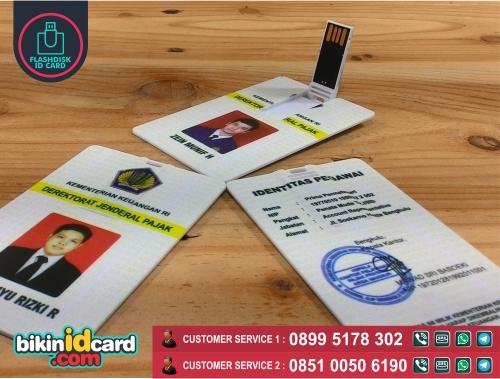 Harga cetak flashdisk kartu murah - Contoh flashdisk kartu murah