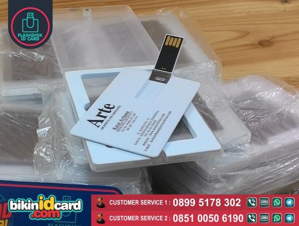 flashdisk kartu murah - Contoh flashdisk kartu