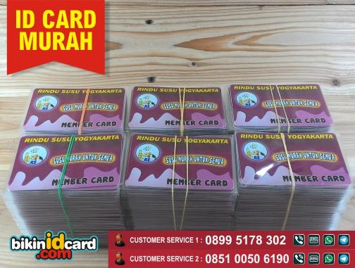 contoh buat id card murah