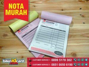 nota murah online