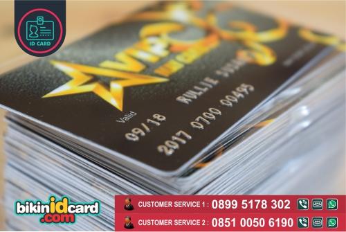 Harga Cetak ID Card Emboss Murah