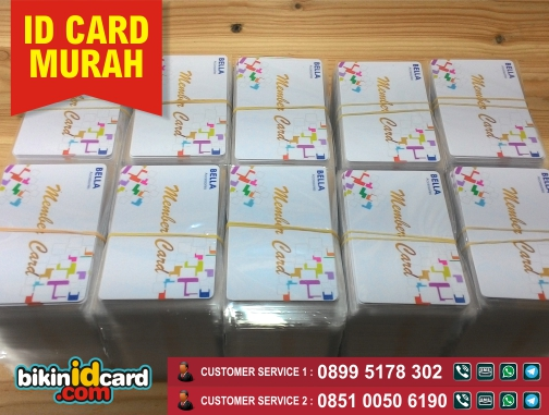 ID CARD OFFSET MURAH