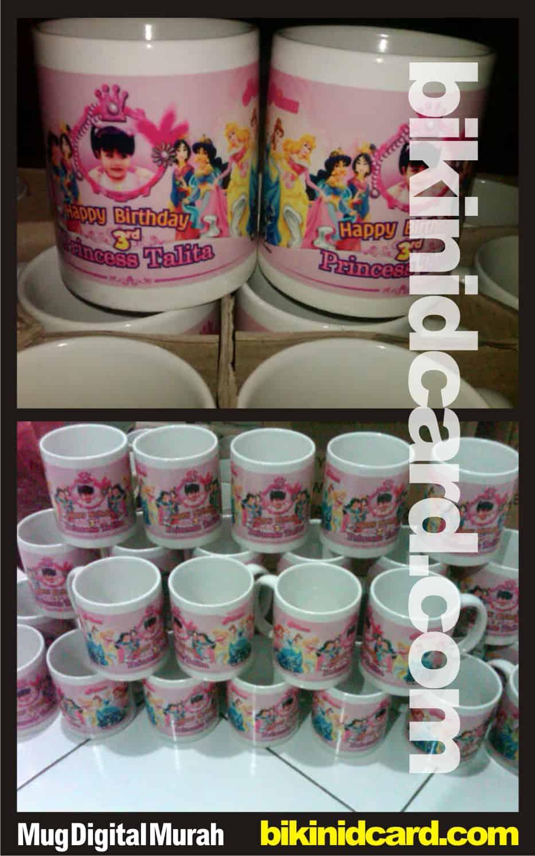 contoh mug digital murah - mug souvenir ulang tahun anak