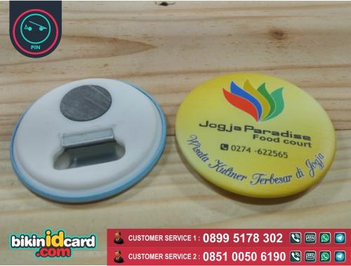 pin murah - pin magnet pembuka botol