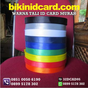 warna tali id card murah jogja