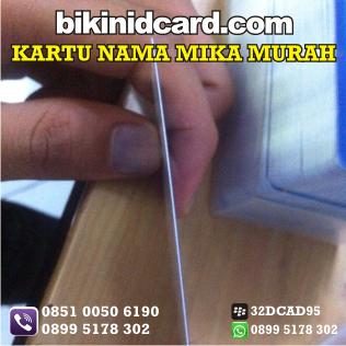 KARTU NAMA PLASTIK MURAH