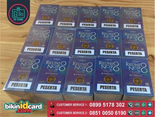 Harga cetak kartu peserta murah - Contoh kartu peserta reuni