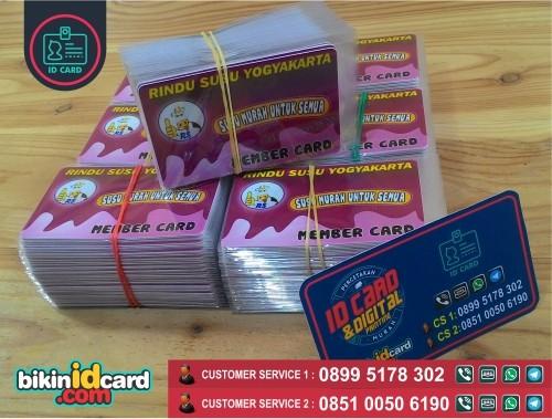 cetak kartu member card
