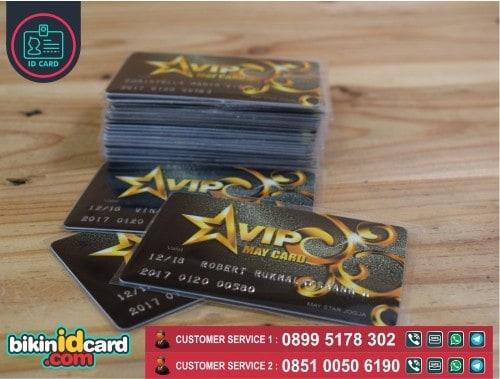 cetak kartu member id card