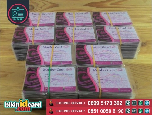 cetak kartu member jakarta