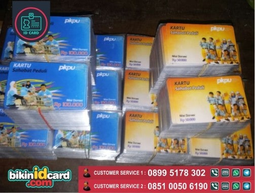 contoh cetak kartu plastik