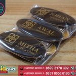Harga Name Tag Resin Murah