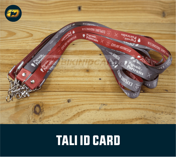tali gantungan id card printing