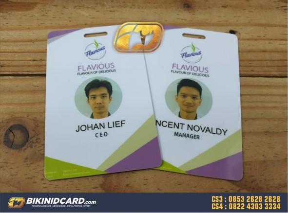 contoh id card pegawai