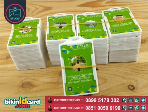 Harga Cetak ID Card Panitia Murah
