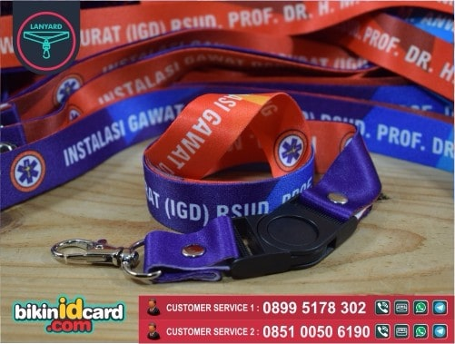 Contoh Cetak Gantungan ID Card Online Di Jogja