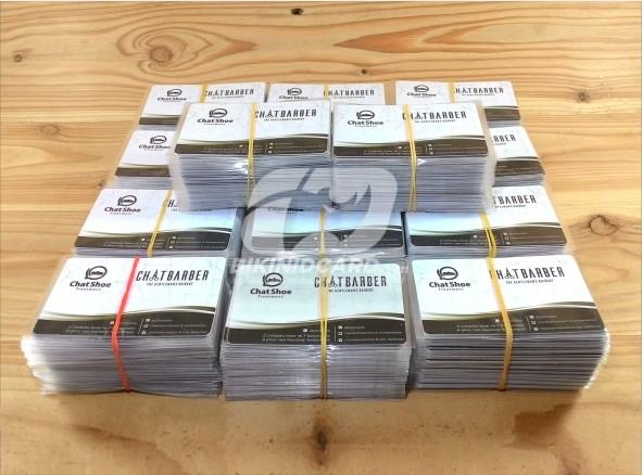 cetak kartu nama plastik murah