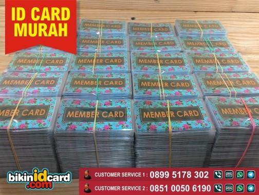 Tempat Cetak Member Card Bergaransi