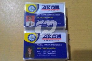 Harga Cetak ID Card Dosen