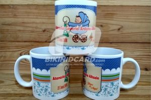 mug souvenir aqiqah
