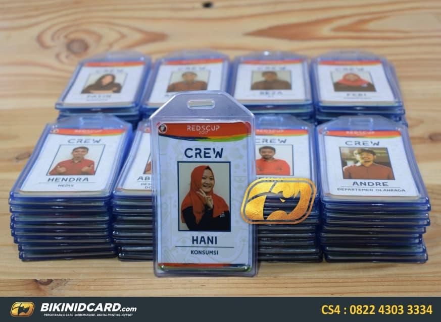 contoh id card crew