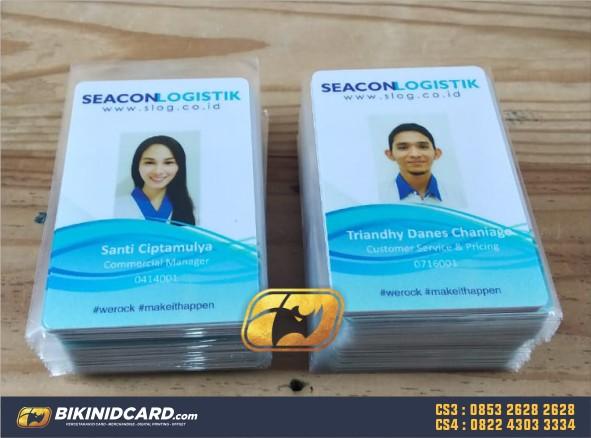 contoh desain id card karyawan swasta