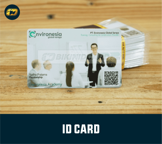 contoh desain id card karyawan
