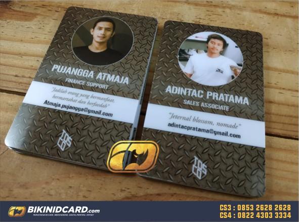 membuat id card sendiri