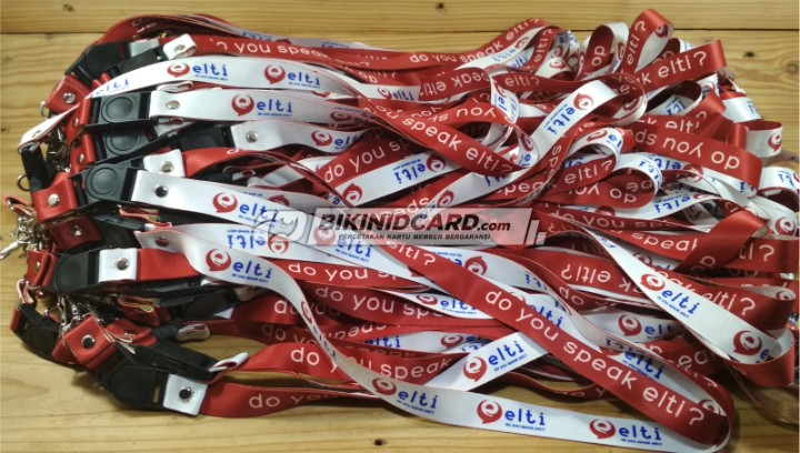 tali id card kursus bahasa inggris