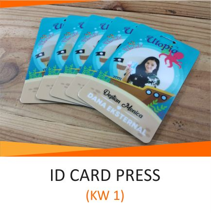 1 ID CARD PRESS