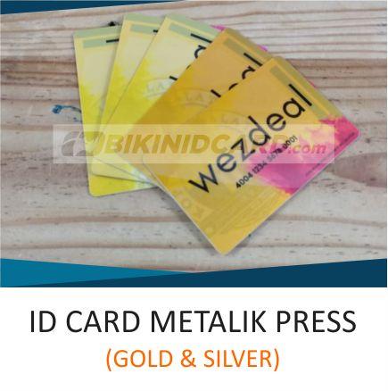 ID CARD METALIK PRESS
