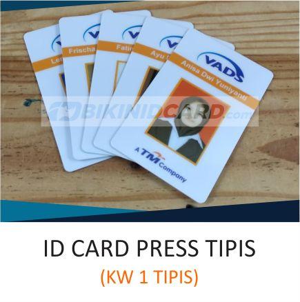 ID Card Karyawan Press Tipis