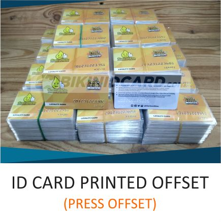 ID CARD PRINTED OFFSET