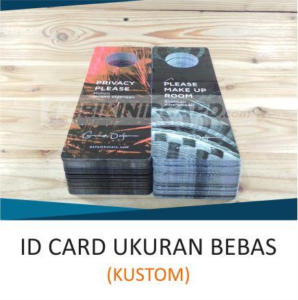 ID CARD UKURAN BEBAS