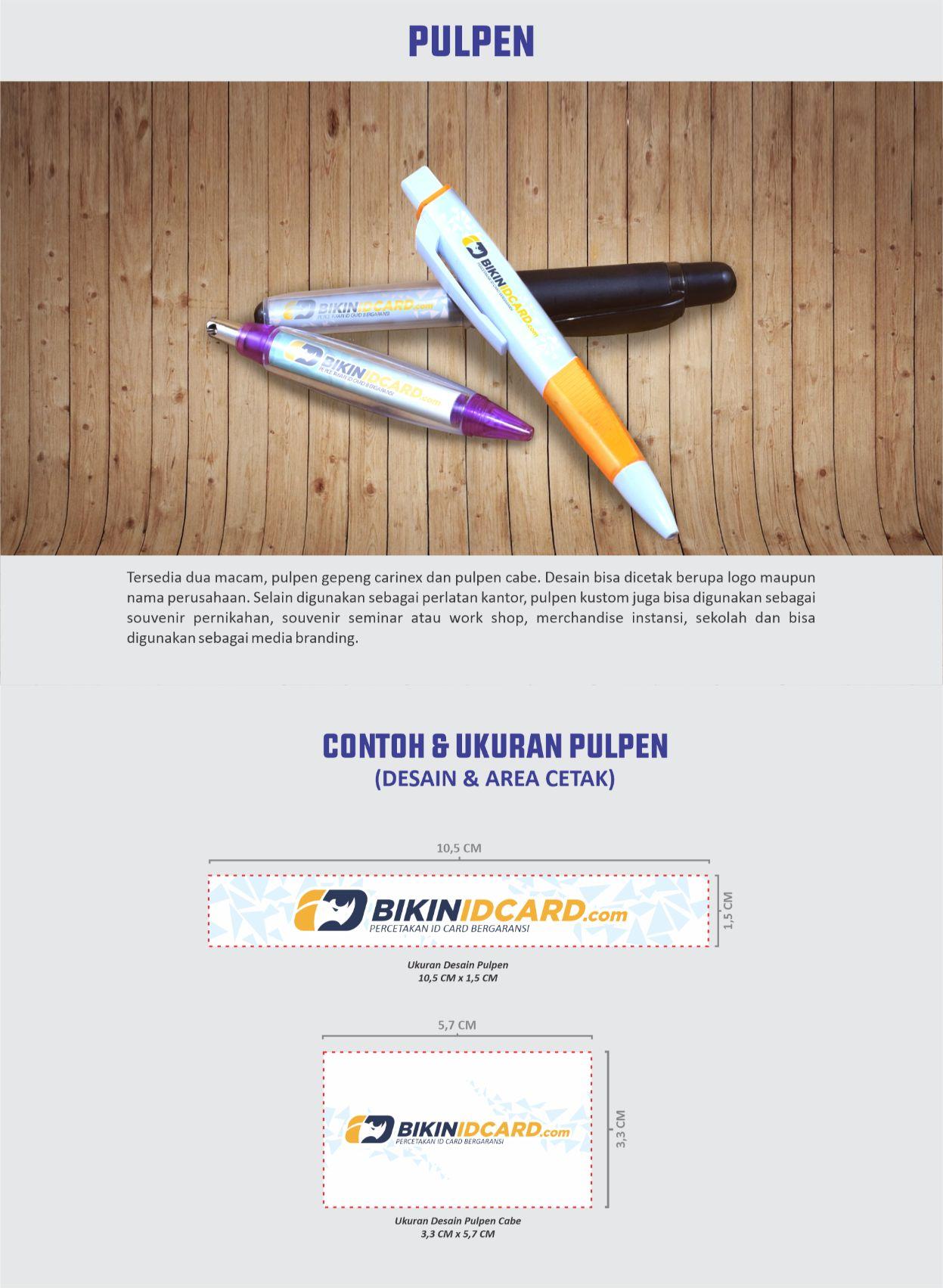 area desain pulpen