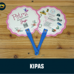 Souvenir Kipas Kertas
