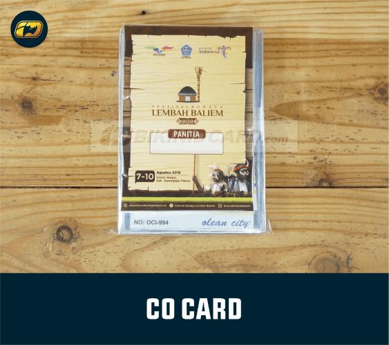 Desain CO Card Panitia
