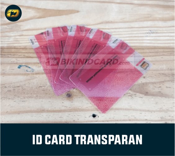 ID Card Transparant printing