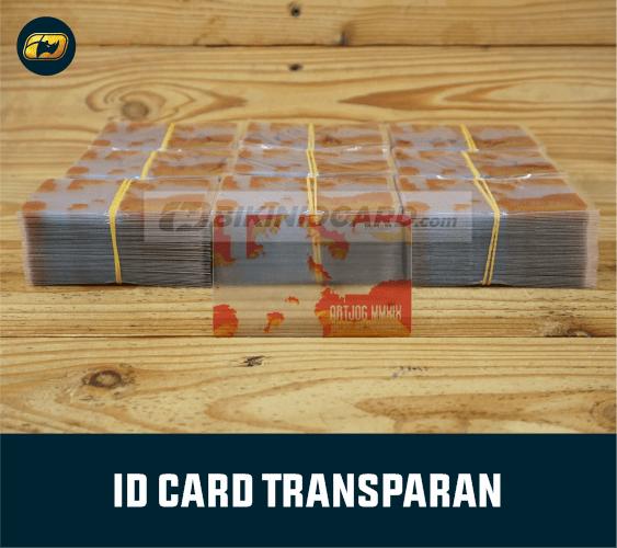 ID Card Transparant