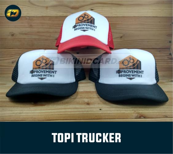 design topi trucker