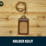 id card holder kulit