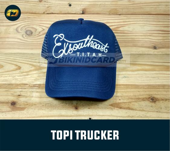 pengertian topi trucker