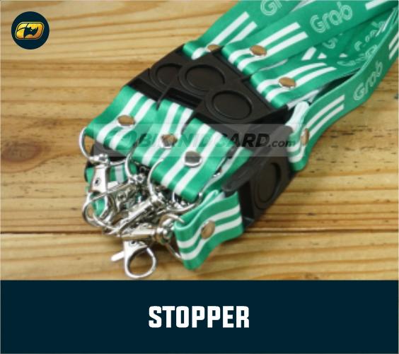 stopper tali id card murah