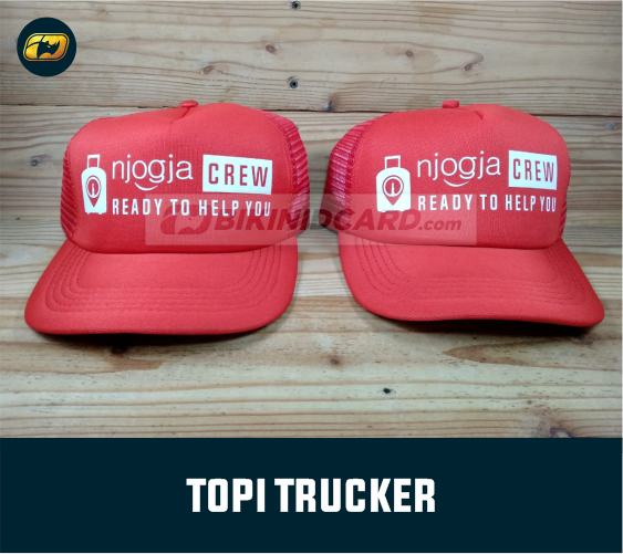 topi trucker satuan jogja