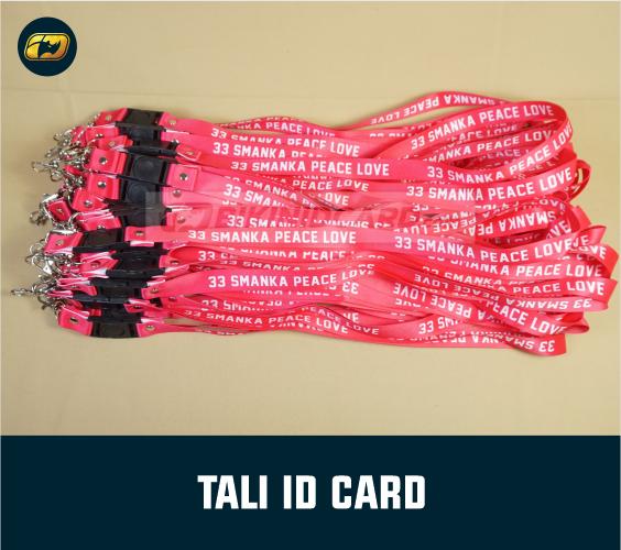 Cetak Gantungan ID Card Karyawan