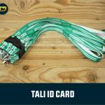 bikin tali gantungan id card karyawan